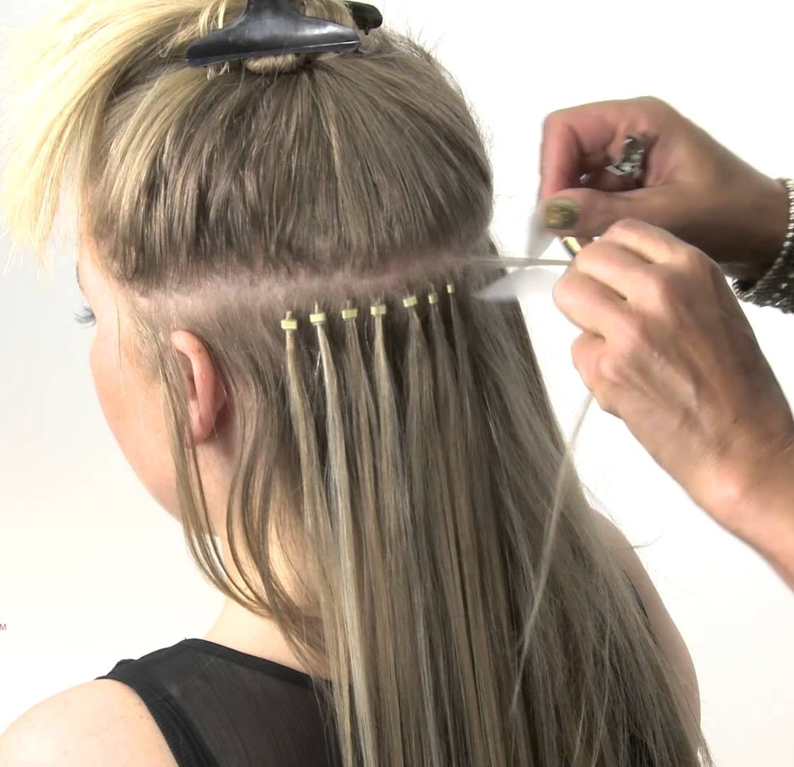 Micro Ring Extension Maintenance Hair Extensions Experts