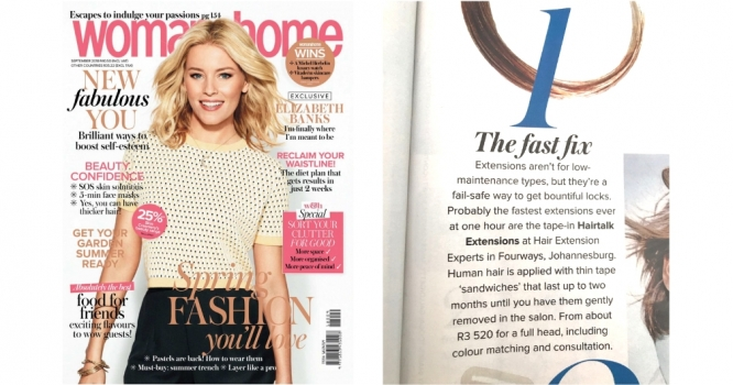 We were featured in Women and Home!