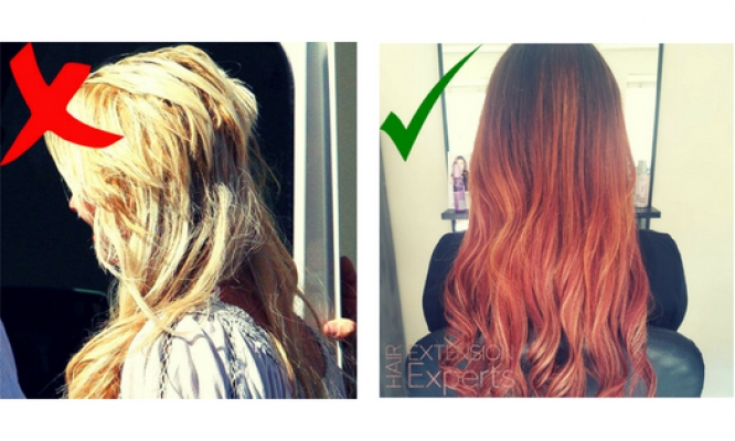 Most Common Tape Hair Extension Mistakes